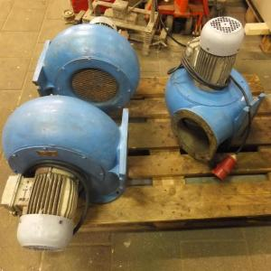 Combinac ventilator, afzuiging, blower 23 m3/min 380V (12.1)3